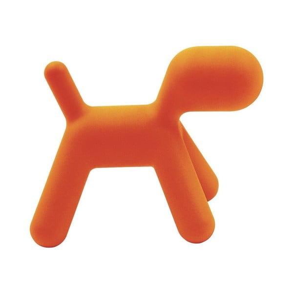 Pomarańczowe krzesełko Puppy, 43 cm