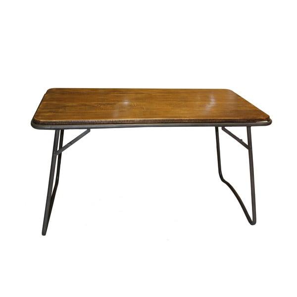 Stół drewniany Industrialis Iron