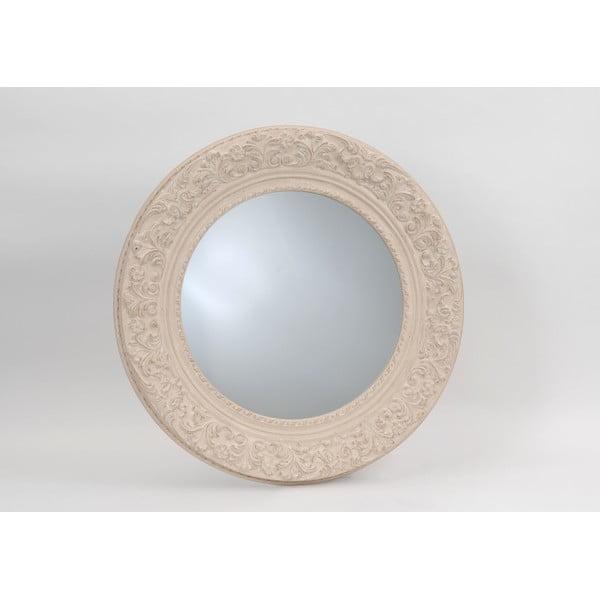 Lustro Cream Round, 100 cm
