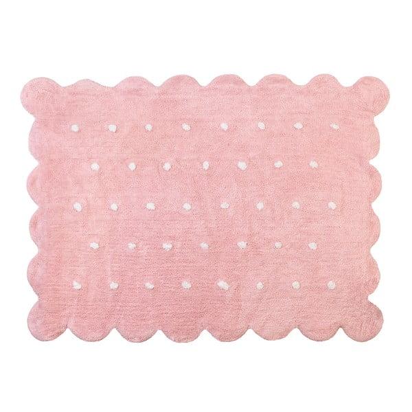 Dywan Cookie 160x120 cm, różowy