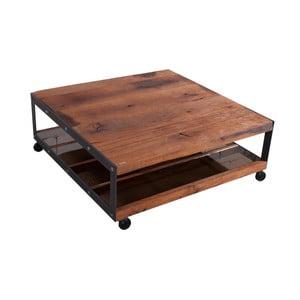 Stolik z blatem z litego drewna dębowego FLAME furniture Inc. Don Vito