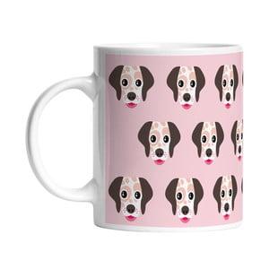 Ceramiczny kubek I Love Dogs, 330 ml