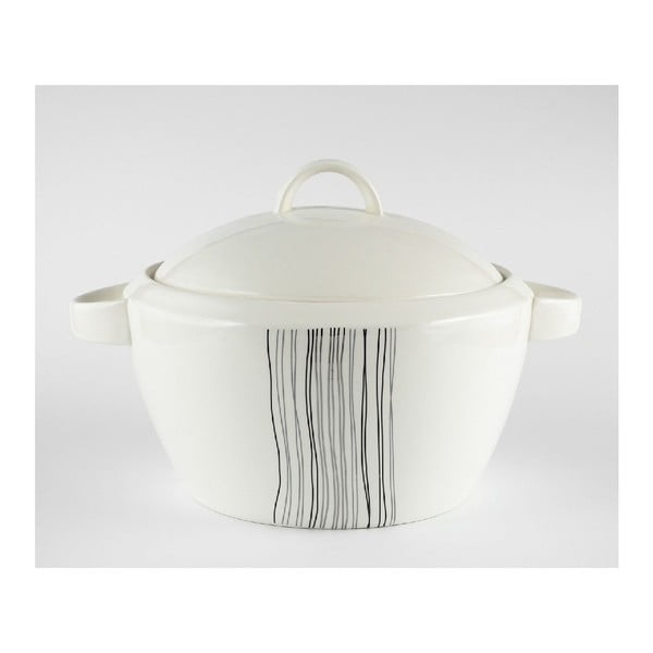 Porcelanowa miska na zupę Silver Line
