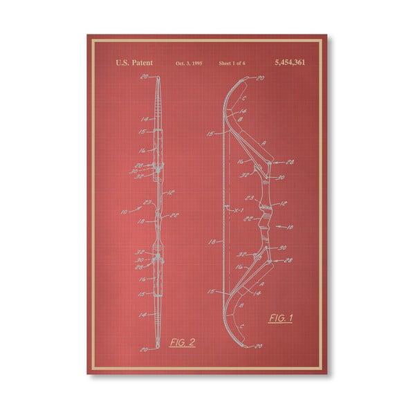 Plakat Bow III, 30x42 cm