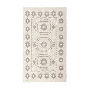 Kremowy dywan bawełniany Floorist Emily, 80x300cm