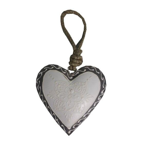Serce dekoracyjne Antic Line Light Heart, 7 cm