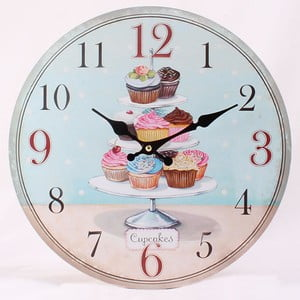 Zegar Cupcakes