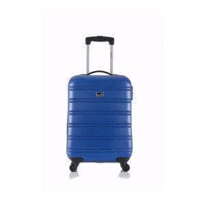 Niebieska walizka podręczna Blue Star Bilbao, 35 l