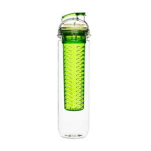 Zielona butelka z wkładem na owoce Sagaform Fresh, 800ml