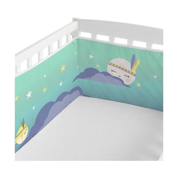 Ochraniacz do łóżeczka Happynois Indian Night, 210x40 cm
