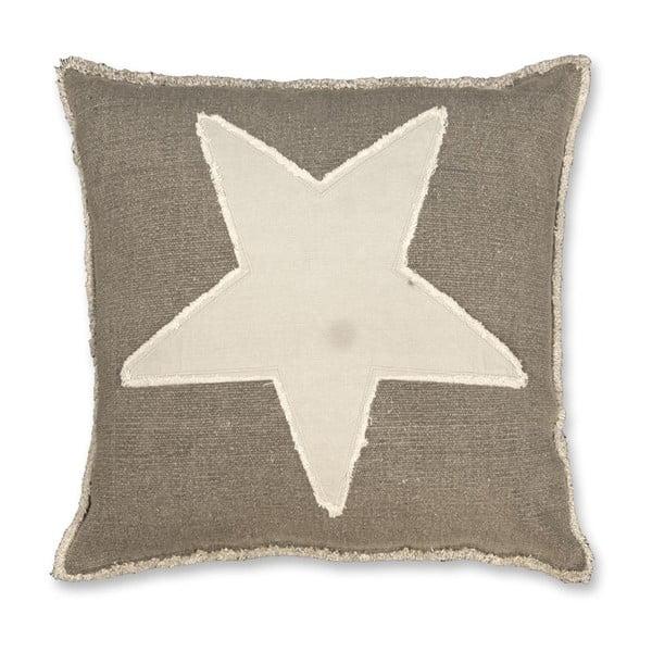 Poduszka Star 45x45 cm, antracyt