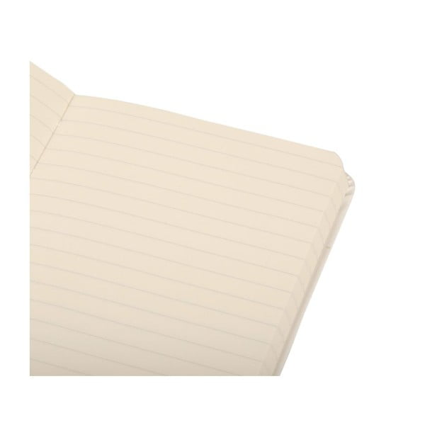 Notes White Hard PKT, w linie