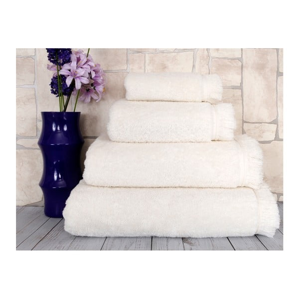 Biały ręcznik Irya Home Superior, 70x130 cm