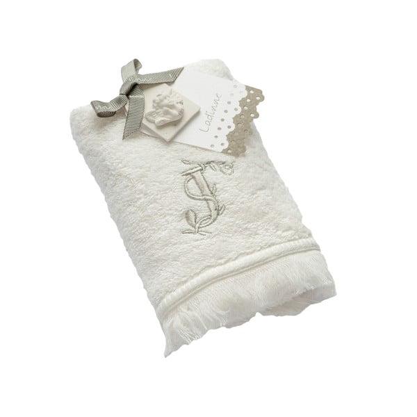 Ręcznik z inicjałem J, 30x50 cm