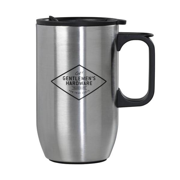 Kubek podróżny ze stali nierdzewnej Gentlemen's Hardware Travel Mug, 450ml