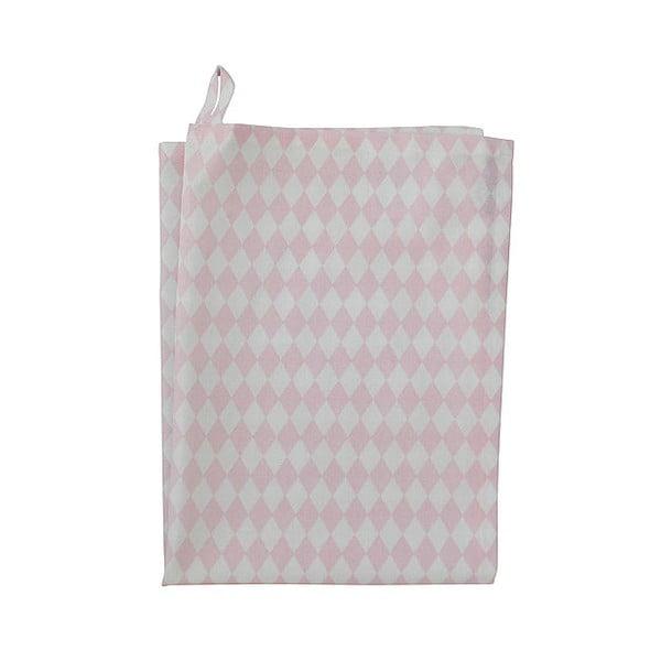Ścierka Krasilnikoff Small Harlekin Pink