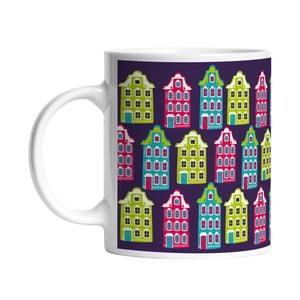Ceramiczny kubek Cozy Houses, 330 ml