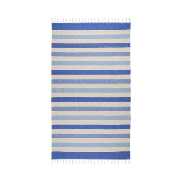 Ręcznik hammam Form, niebieski