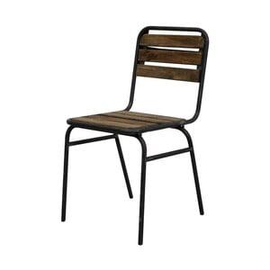 Metalowe krzesło Red Cartel Camberra