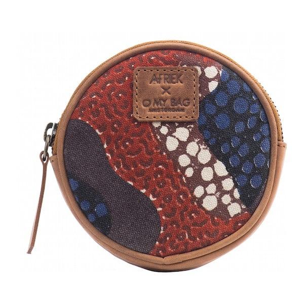 Czerwony portfel na drobne O My Bag Circular