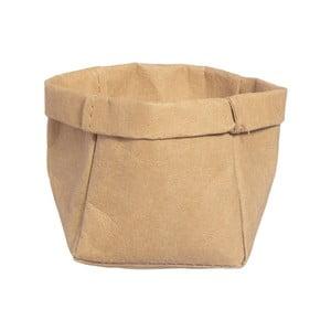 Koszyk do przechowywania z papieru zmywalnego Furniteam Tree, ⌀ 9 cm