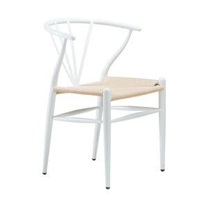 Białe krzesło DAN-FORM Denmark Delta