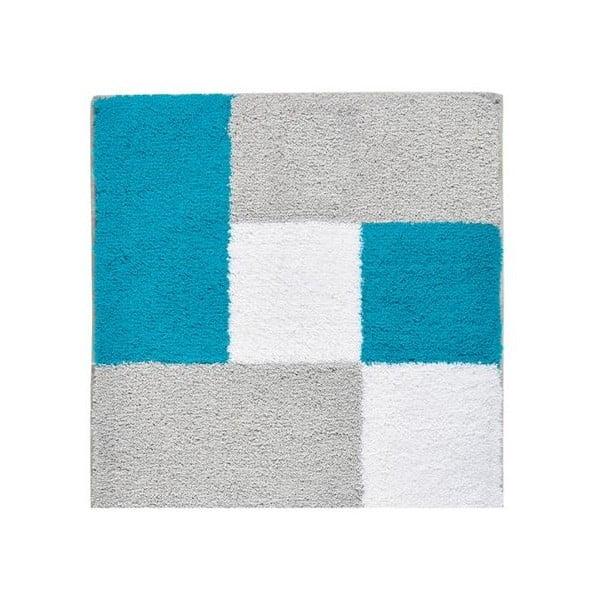 Dywanik łazienkowy Zamba Blue, 60x60 cm