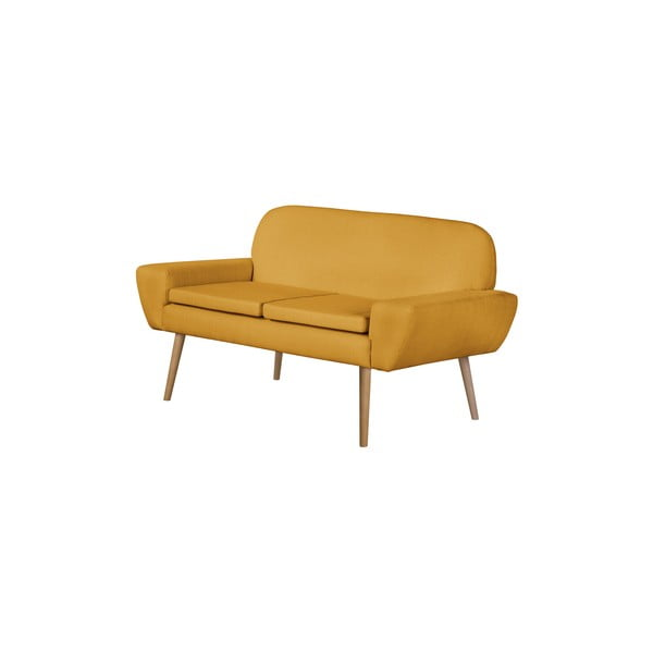 Sofa Dessau, żółta