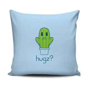 Niebiesko-zielona poduszka Home de Bleu Hugz?, 43x43cm