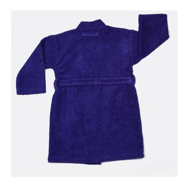 Szlafrok dziecięcy US Polo Uspa Violet Blue, rozmiar 3/4