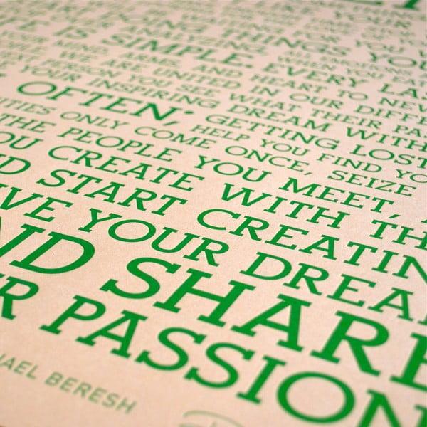 Plakat Terra Manifesto, 61x46 cm