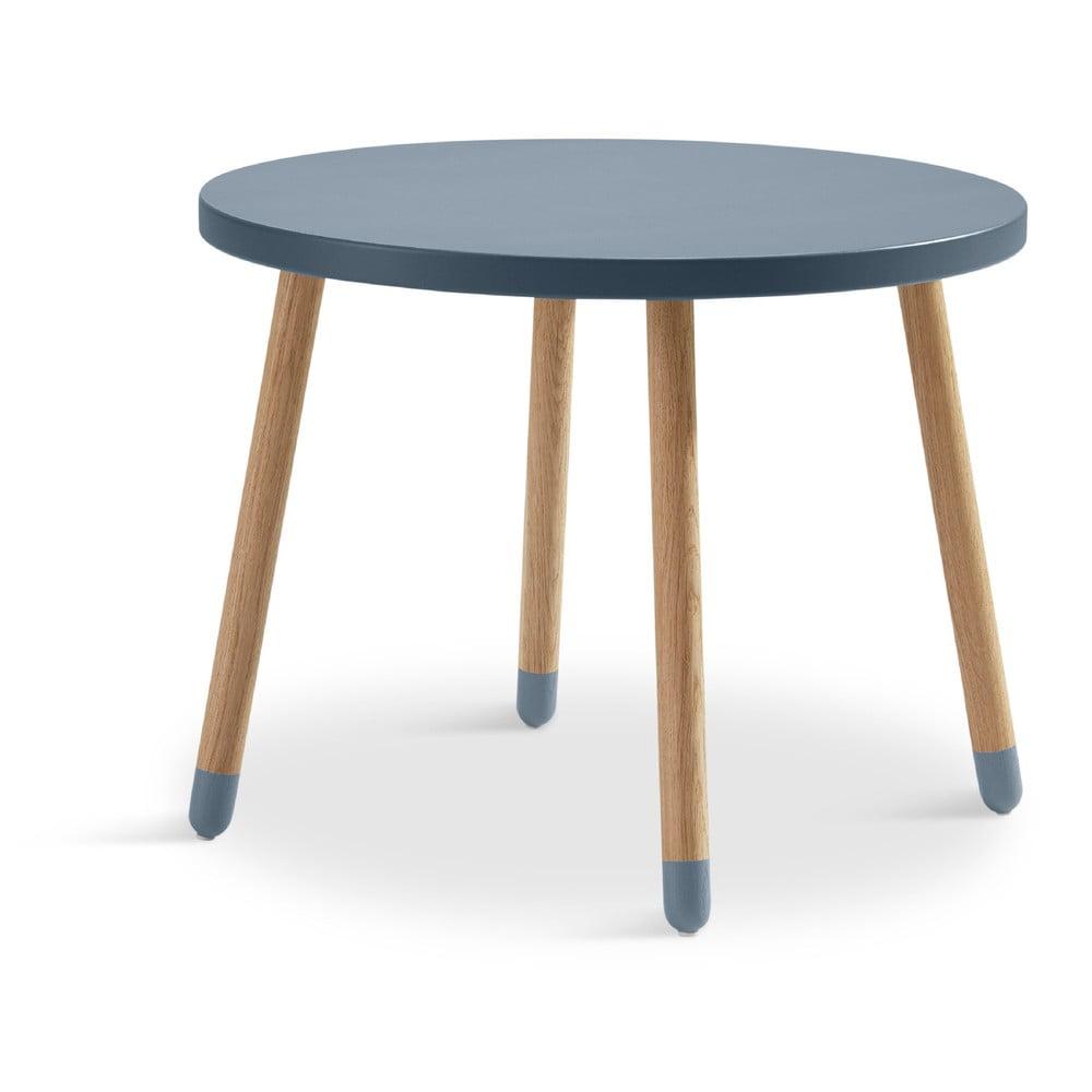 Niebieski stolik Flexa Play, ø 60 cm