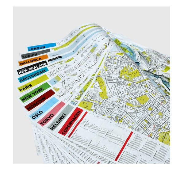 Zgnieciona mapa Amsterdamu