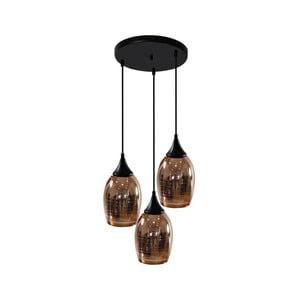 Lampa Candellux Lighting Marina 3, złota