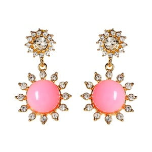 Kolczyki Sweet Princess Pink