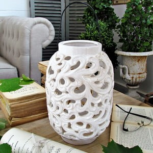 Lampion ceramiczny Milano White