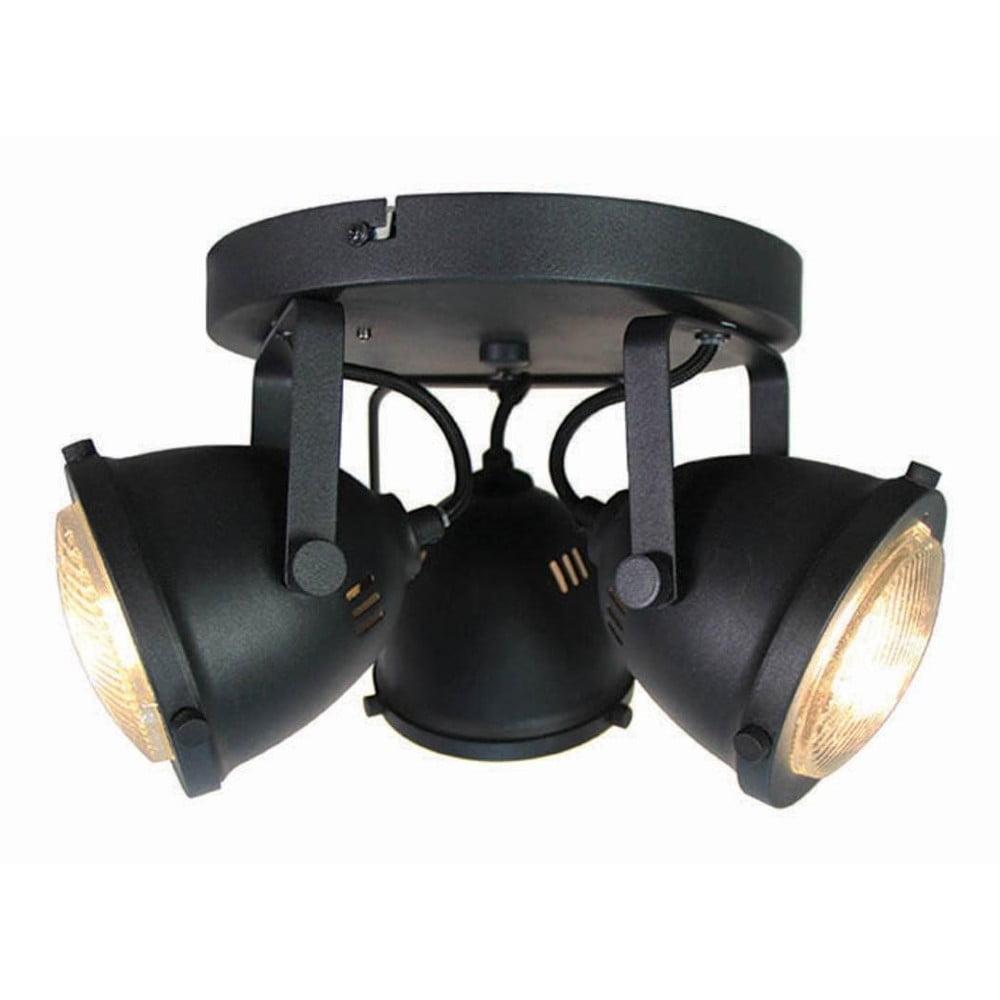 Czarna lampa sufitowa LABEL51 Spot Moto Tres