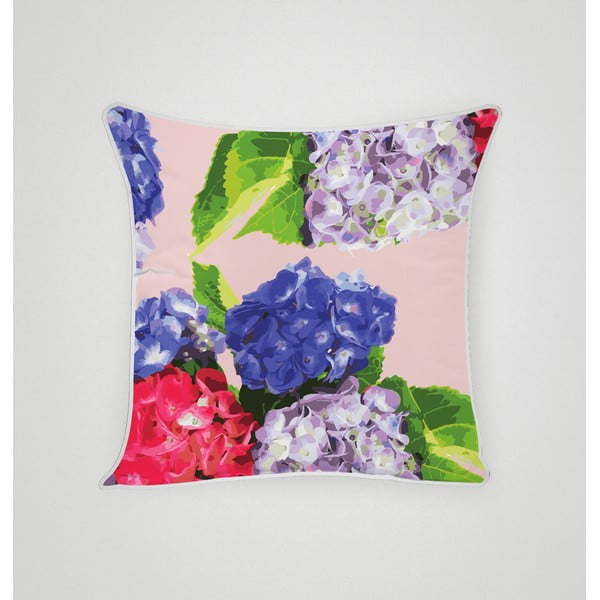 Poszewka na poduszkę Hydrangea VI, 45x45 cm
