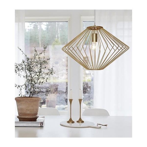 Lampa wisząca w kolorze złota Markslöjd Edge