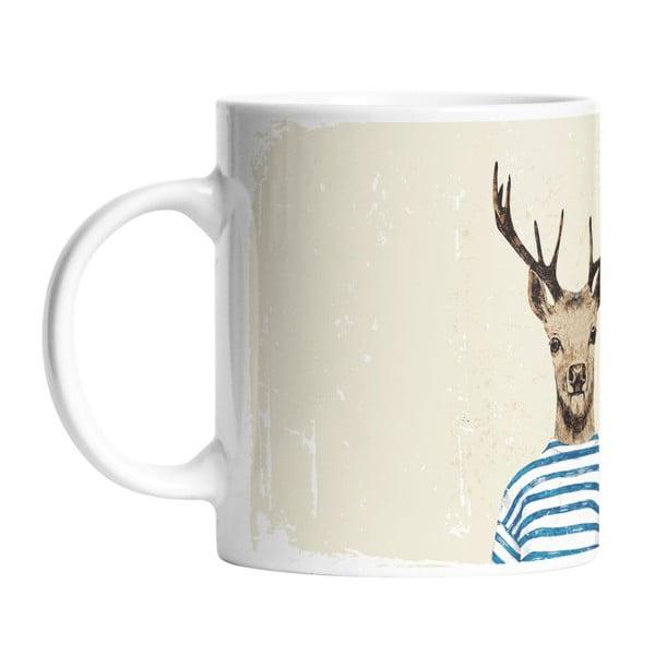 Ceramiczny kubek Young Deer, 330 ml