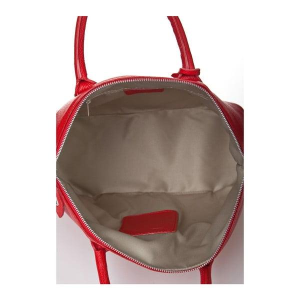 Skórzana torebka Costa Red