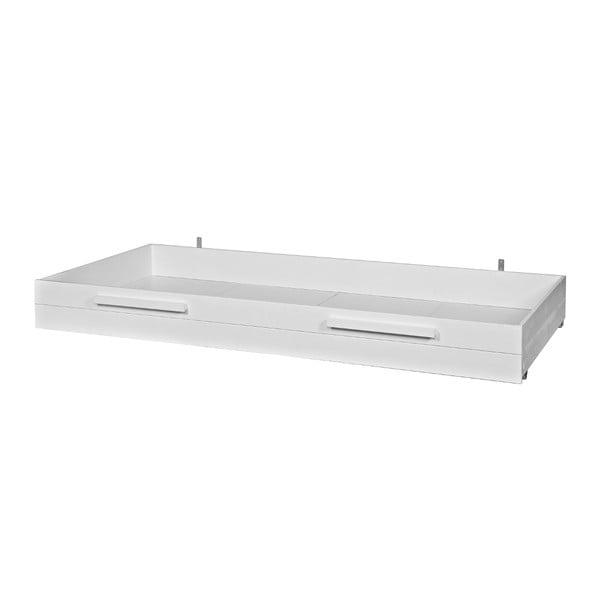 Biała szuflada pod łóżko Max