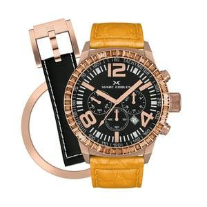 Zegarek damski Marc Coblen z dodatkowym paskiem i obręczą P119