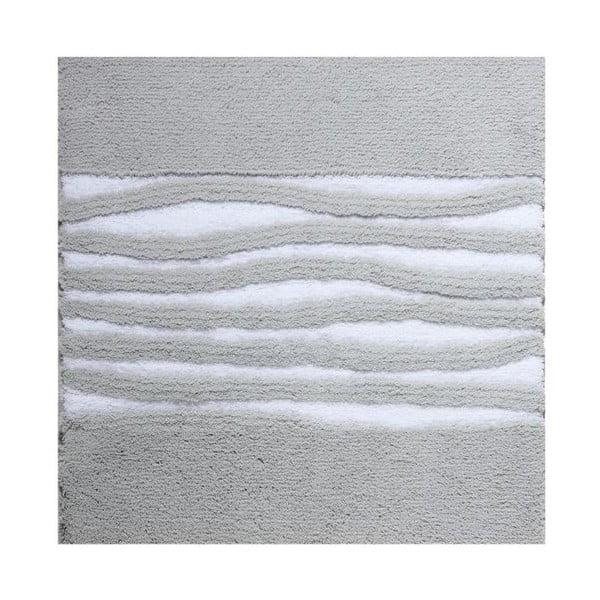 Dywanik łazienkowy Morgan Silver, 60x60 cm