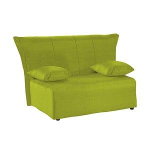 Zielona rozkładana sofa dwuosobowa 13Casa Cedro