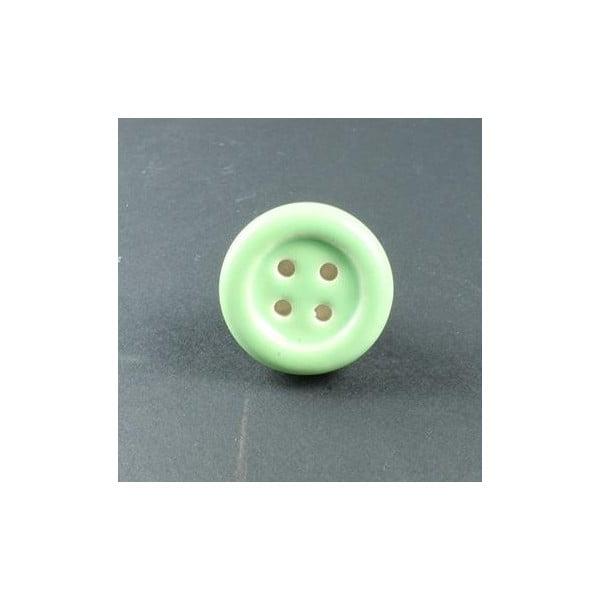 Gałka porcelanowa Green Button