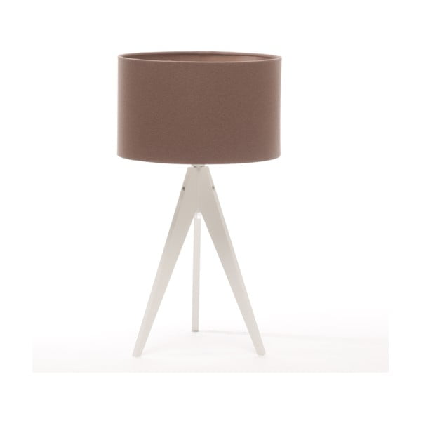 Lampa stołowa Artist Dark Taupe/White