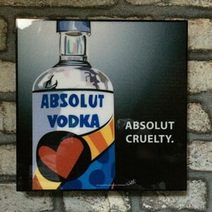 "Obraz ""Absolute Vodka"""