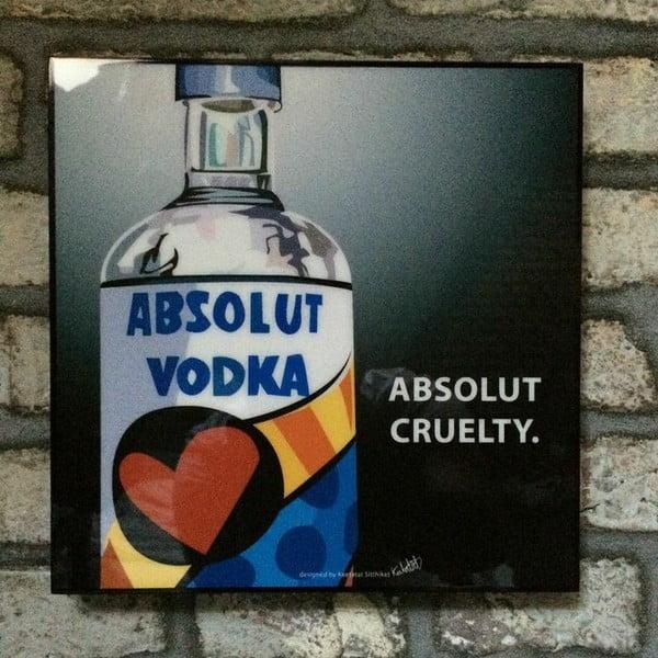 "Obraz ""Absolute Vodka"""