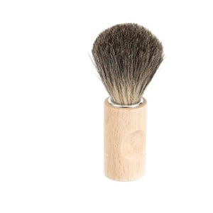Naturalny pędzel do golenia z włosiem borsuka Iris Hantverk